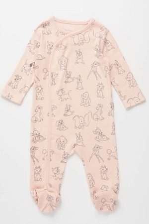 Allover Bambi Cotton Overall