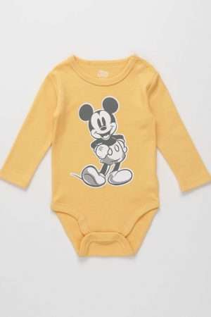 Mickey Mouse long-sleeved Bodysuit