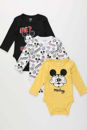Mickey Mouse 3-Piece Bodysuit Set