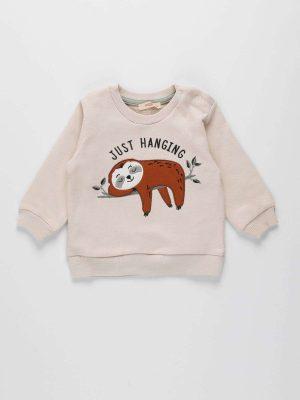 Casual Print Sweatshirt