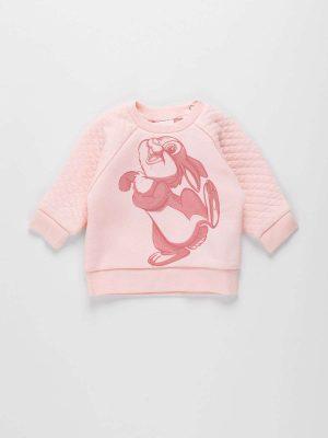 Thumper Print Fleece Sweatshirt